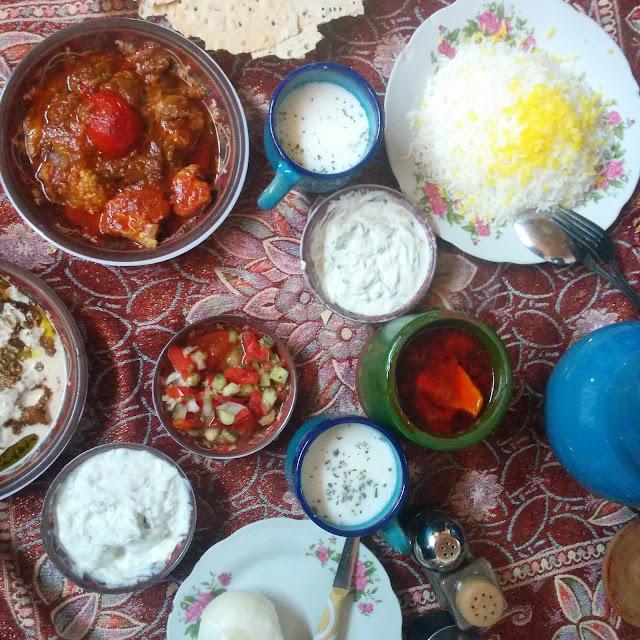 Vegetarian Food in Iran