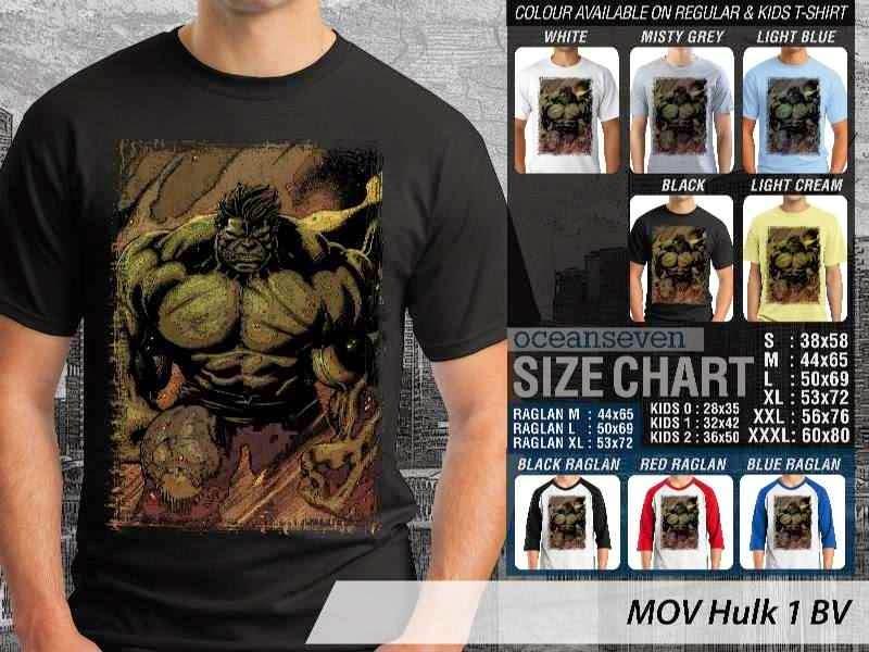 Kaos ie Hulk 1 Hulk distro ocean seven
