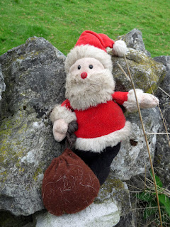 It's a bit early for Santa isn't it??!!