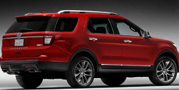 2017 Ford Explorer Redesign Price Release Date Car Review Specs