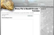 Binary File to Base64 Encoder / Translator