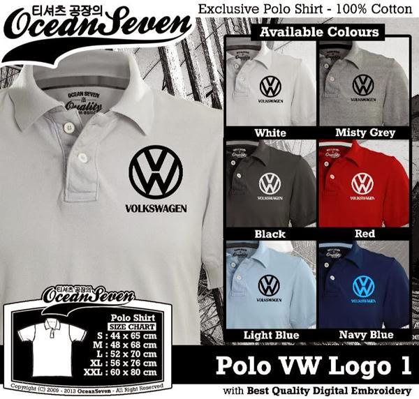 POLO VW Logo distro ocean seven