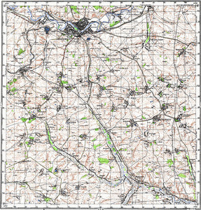 Map 100k--m37-054--(1966)