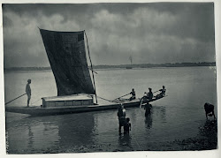 Indian Boats on River - Various Photographs 1900's