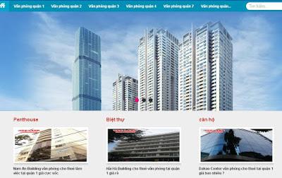 Template blogpsot bất động sản