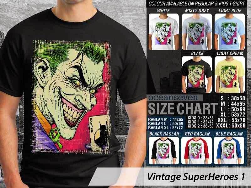 KAOS The Joker VS Batman Vintage distro ocean seven