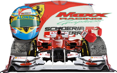 Фернандо Алонсо и Ferrari в сезоне 2011 Maxx Racing
