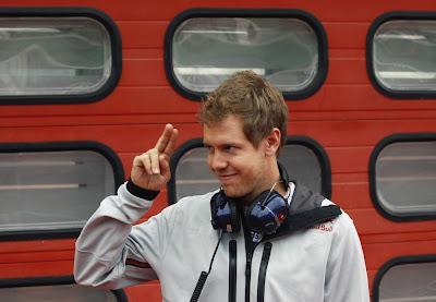 Себастьян Феттель на тестах в Муджелло 2012