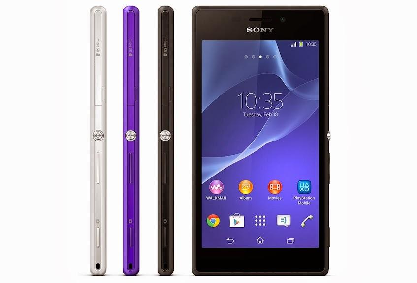 Sony Xperia M2 - Spesifikasi Lengkap dan Harga