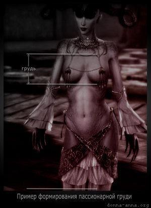 Пассионарная женская грудь