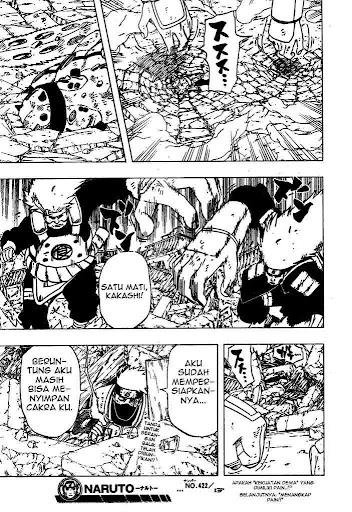 Komik Naruto 422 Terbaru page 17