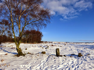 Stone Circle On Froggatt Edge