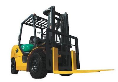 xe nang Komatsu Diesel