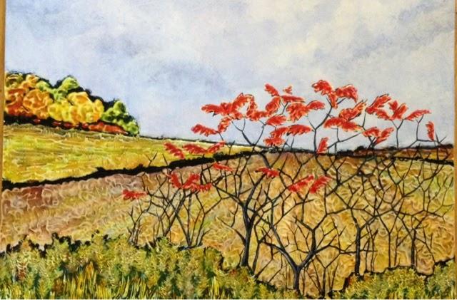 painting sumac Robin Baratta artist