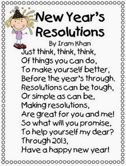 Famous Happy New Year Poems For Kids - Free Quotes, Poems, Pictures ...