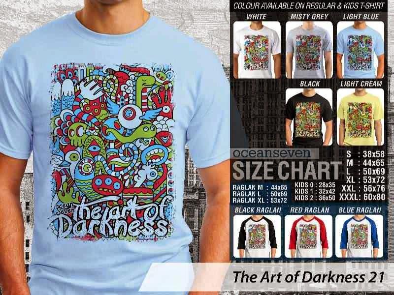 KAOS keren The Art of Darkness 21 distro ocean seven