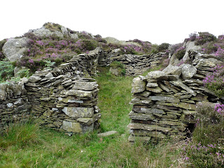 A sheepfold below the summit of Arnsbarrow Hill