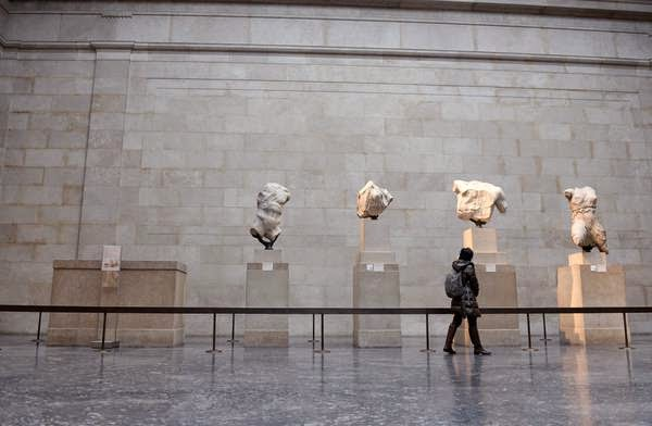 Parthenon sculpture leaves Britain for the first time