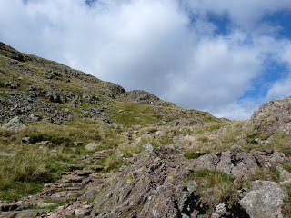 Great Gable path