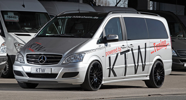 KTW Mercedes Viano 3 Mercedes Benz Viano Minivan Powered Up, Courtesy of KTW Tuning