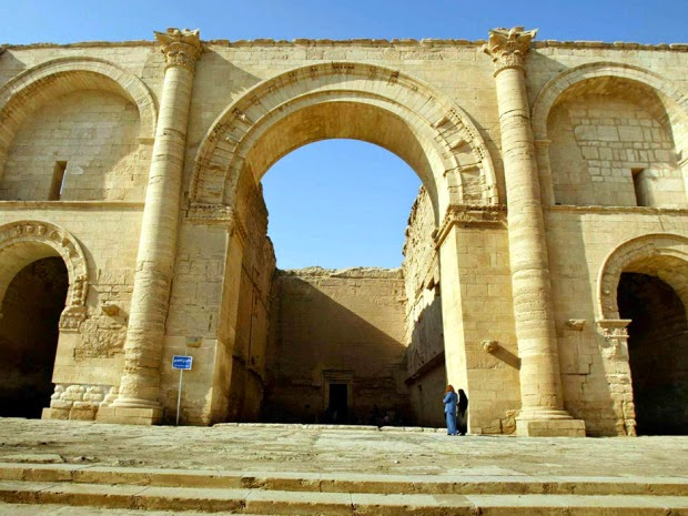 Iraqi jihadists seize 'Exorcist' temple at Hatra