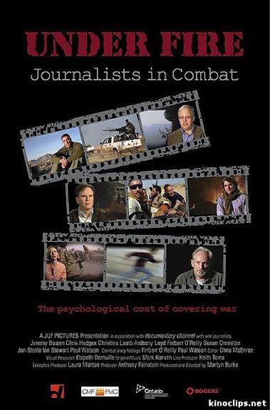 Pod ostrza³em dziennikarze na polu walki / Under Fire Journalists In Combat (2011) PL.TVRip.XviD / Lektor PL