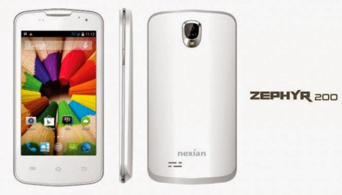 Nexian Zephyr 200 - Spesifikasi Lengkap dan Harga