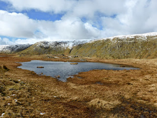 A small tarn between Steel Fell and Calf Crag