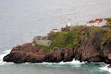 Lighthouse and Battery -- St. John's, Newfoundland, Canada