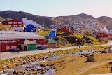 Walking Back into Town -- Qaqortoq, Greenland