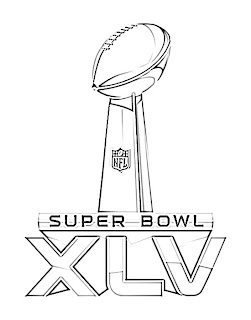 super bowl trophy sketch sketch coloring page