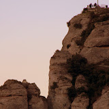 A Cross On One of the Rocky Peaks - Montserrat, Spain