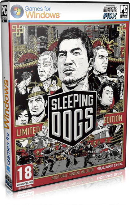 Скачать Sleeping Dogs - Limited Edition (SQUARE ENIX \ Новый Диск) (RUS\ENG