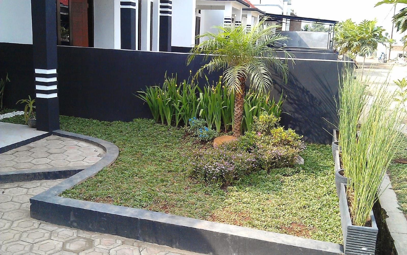 Taman Depan Rumah  Denah Rumah