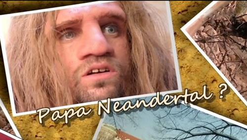 Nasz ojciec neandertalczyk / Neandertal, L'Homme Ideal? (2010) PL.TVRip.XviD / Lektor PL