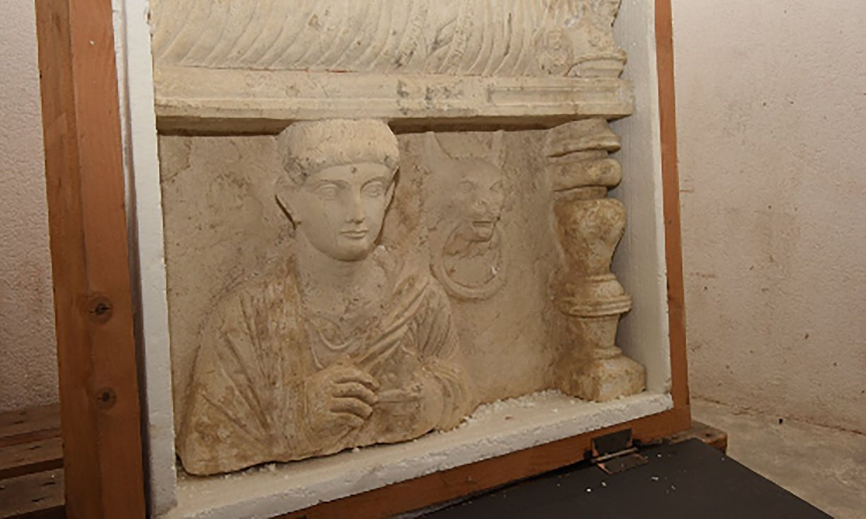 Syria: Swiss seize artefacts looted from Syria's Palmyra