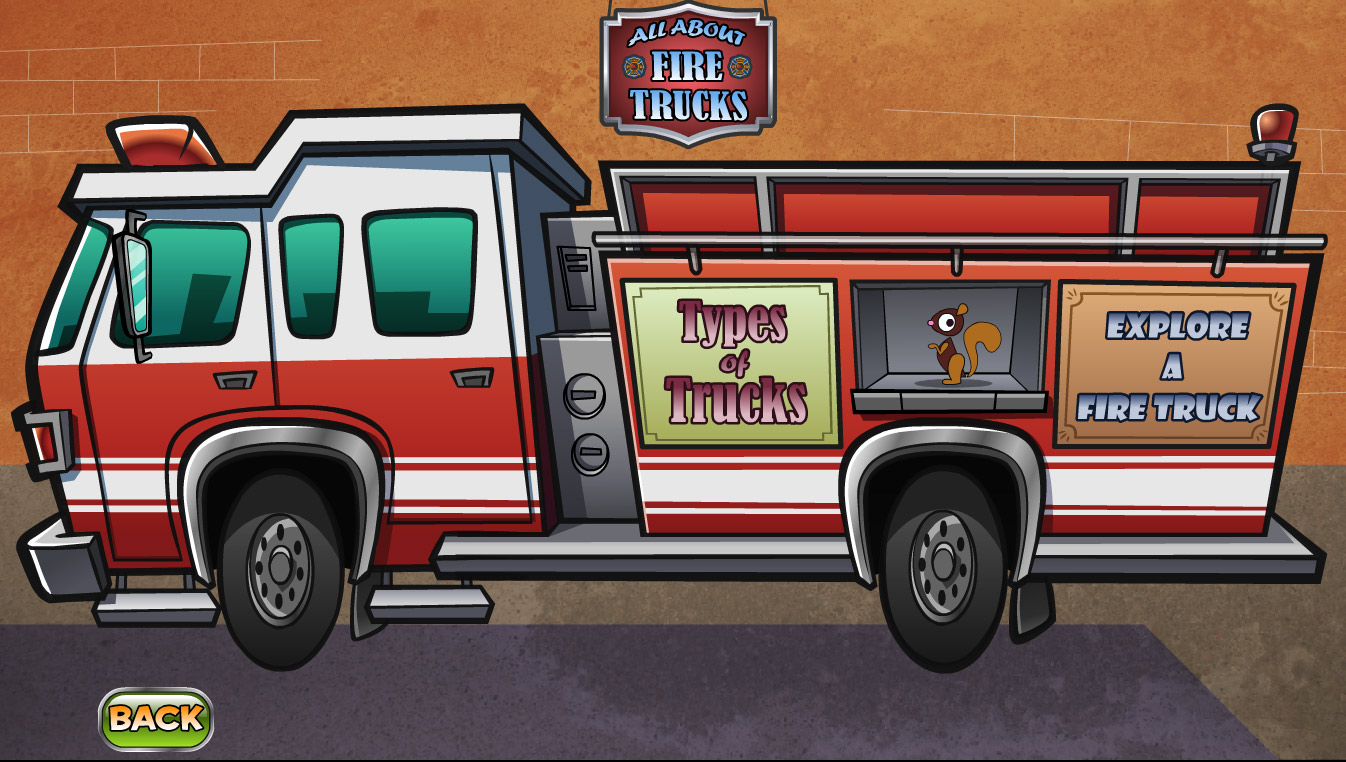 Fire Truck Coloring Pages Transportation ColoringPedia - fire truck coloring pages