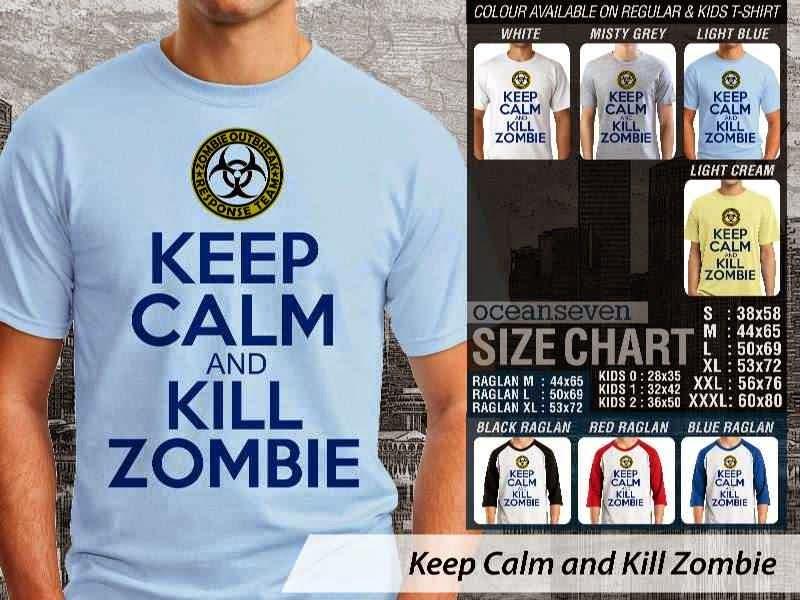 KAOS Keep Calm And Kill Zombie distro ocean seven