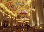 The Venetian hotel lobby