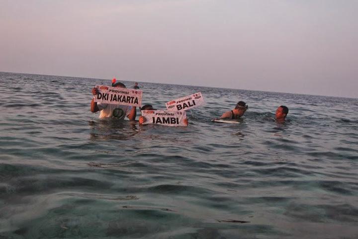 renang kdm mamuju bpap 2014 pulau karampuang