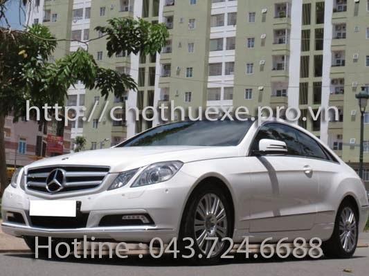 Cho thuê xe 4 chỗ hạng sang Mercedes E250