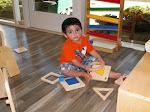 LePort Preschool Huntington Beach - Puzzles at Montessori daycare