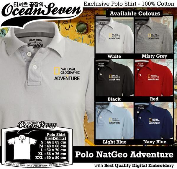 POLO National Geographic Natgeo Adventure distro ocean seven