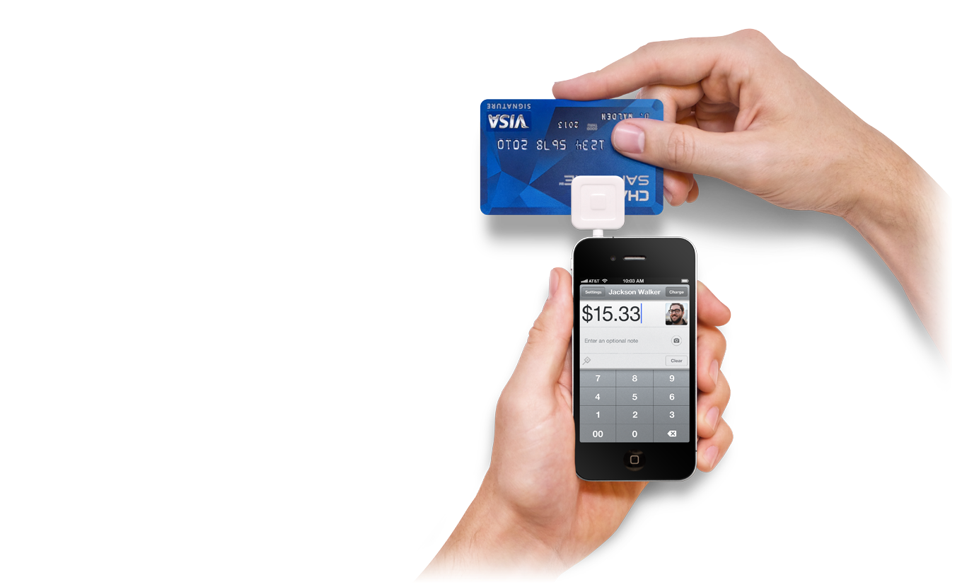 credit card machine for phones