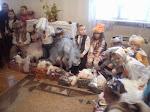 a szolyvai ovisok karácsonyi ajándékzuhatagban