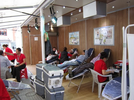 Camiler ve Din Görevlileri Haftasında Kumru'da Gönüllü Kan Bağışı