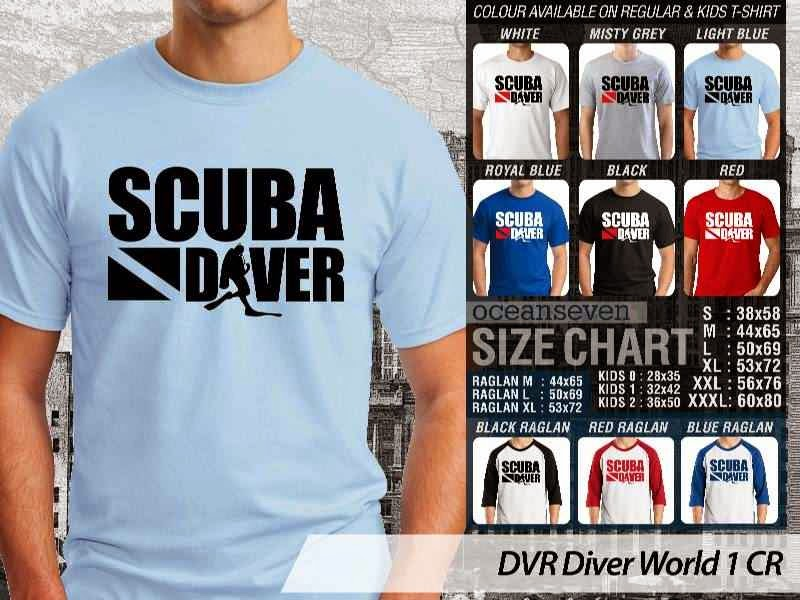 Kaos DVR Diver World 1 CR distro ocean seven