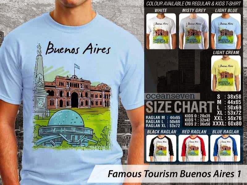 Kaos Wisata Buenos Aires 1 Argentina distro ocean seven