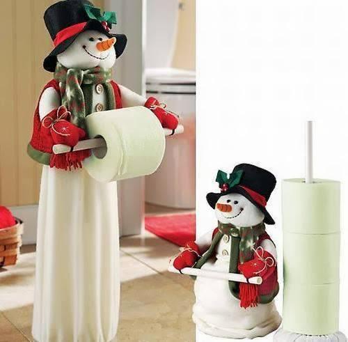 Baño Navideno Navidad: de nieve para el baño y cocina de la casa, 2015