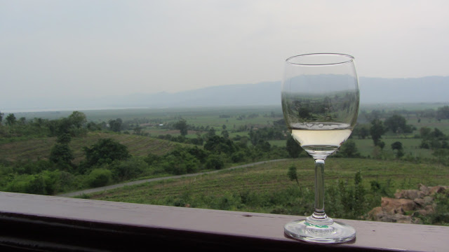 Decent wine in Burma - who knew?!